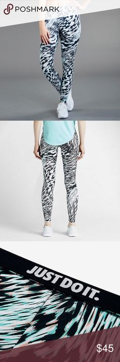 Nike leggings Women's Nike Leggings Tight Pant Leg-a-see Windblur 56% cotton 33% polyester 11% spandex FULL LENGHT 🚫NO TRADES Nike Pants Leggings