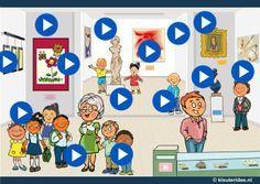 Interactieve praatplaat museum, kleuteridee by juf Petra - Petra, Realistic Pencil Drawings, Art Drawings, 17th Century Art, Kindergarten Art, Class Projects, Keith Haring, Vincent Van Gogh, British Museum