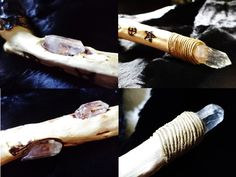 The Swamp Wood Wand - Wiccan, Pagan, Witch Craft · Hidden Treasures · Online Store Powered by Storenvy