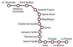 La #Metro di #Rennes è un servizio ferroviario composto da una sola linea che attraverrsa la città di Rennes, in Bretagna (Francia). Il sistema comprende 15 stazioni, di cui 13 sotterranee, per un percorso di 9,4 km. La metro di Rennes offre un rapido sistema di trasporto per gli abitanti della città. La linea serve più di 130,000 passeggeri ogni giorno.