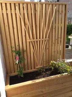 Gjør det selv – blomsterkasse i Sibirsk Lerk med selvvanning – Gjør det selv Different Textures, Planters, Wood, Outdoors, Gardens, Diy Garden Projects, Diy, Nature, Woodwind Instrument