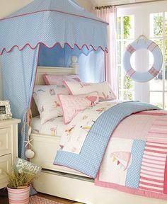 La Bebe Chambre: Nautical Inspired Rooms - Nautical theme for a girl. I love it! ~ SJZ