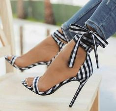 4f89082be8bf Sestito 2018 Brand Designer Shoes Woman Elegant Gingham Lace-up High Heels  Ankle Strap Sandals Ladies Peep Toe Cover Heels Shoes