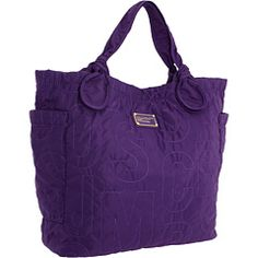 Marc by Marc Jacobs - Pretty Nylon Tate (Bright Grape) - Bags and Luggage, $208.00 | www.findbuy.co/brand/marc-by-marc-jacobs #MarcbyMarcJacobs