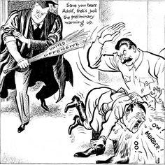 Caricature de Leslie Illingworth paru dans le Daily Mail le 10 février 1943