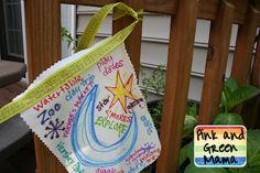 Wish flags! Easy to integrate into activity on goal setting or a simple way to help girls give you ideas to keep the troop girl-led!
