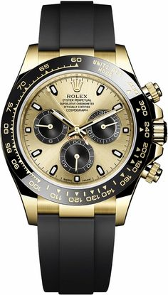 Rolex is proud to announce its latest collection of timeless watches. Discover the innovative features and iconic aesthetics of the new Rolex 2019 watches. Rolex Daytona, Daytona Watch, Rolex Cosmograph Daytona, Rolex Datejust, Swiss Luxury Watches, Swiss Army Watches, Luxury Watches For Men, Expensive Watches For Men, Gold Rolex