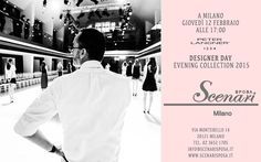 DESIGNER DAY BRIDAL COLLECTION IN ITALY! February 12, 2015 at Scenari Sposa Via Montebello 14, Milan Italy. Phone: +39 02 36521705 - http://www.scenarisposa.it/en/