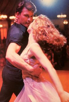 dirty dancing  - he's gone, and she's almost unrecognizable due to plastic surgery - a place and time gone forever.