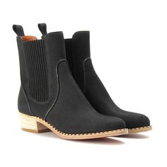 mytheresa.com - Marc by Marc Jacobs - CLIPPY SUEDE CHELSEA BOOTS - Luxury Fashion for Women / Designer clothing, shoes, bags