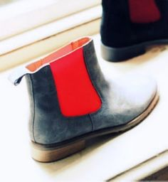 2013 New neon chelsea ankle boots, neon ankle boots, neon chelsea boots #neon #boots www.loveitsomuch.com