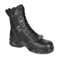 """Rothco Black 8"""" Forced Entry Tactical CT SZ - 5063-11M"""