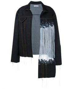 FAUSTINE STEINMETZ Warp Float Dropped Denim Jacket