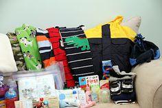 Toddler 72 hour emergency kit list... Such a good idea!