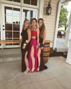 """427 Likes, 25 Comments - Maria O'Brien (@gobrien_17) on Instagram: """"""""Oh god which camera do we look at"""" #prom2k17"""""""