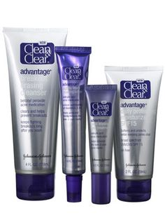 This acne-fighting kit of four Clean & Clear products contains the trifecta of dermatologist-recommend acne fighters.