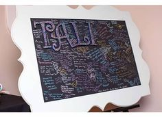 DIY Bat Mitzvah Sign-in Boards Project & Step-by-Step Instructions - mazelmoments.com