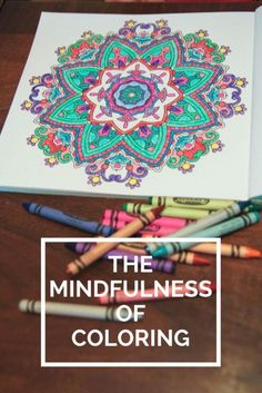 Add coloring to your mindfulness toolbox. It can lower your stress and center your mind and body. #spon