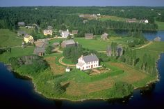 Kings Landing historical settlement, New Brunswick, Canada - going this weekend for the sugarbush, can't wait! O Canada, Canada Travel, New Brunswick Canada, King's Landing, Atlantic Canada, Canadian History, Prince Edward Island, Vacation Destinations, Vacations