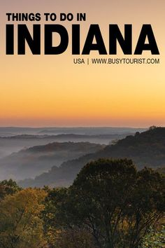 Wondering what to do in Indiana? This travel guide will show you the top attractions, best activities, places to visit & fun things to do in Indiana. Start planning your itinerary & bucket list now! #indiana #usatravel #usatrip #usaroadtrip #travelusa #ustravel #ustraveldestinations #vacationusa #americatravel