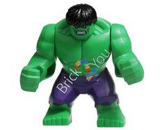 LEGO Hulk minifigure from 76018 Hulk Lab Smash by Brick2you