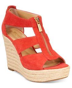 c274c17fcce0 MICHAEL Michael Kors Damita Platform Wedge Sandals Sko Sandaler