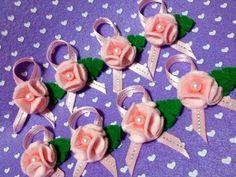 Como fazer Florzinhas em feltro !!! (- Felt Flower Tutorial ...) - YouTube