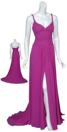 EMANUEL UNGARO Chiffon Gown