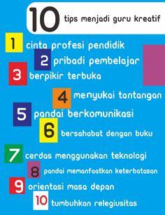 10 Tips menjadi guru kreatif 1. Cinta profesi pendidik 2. Pribadi pembelajar 3. Berfikir terbuka 4. Menyukai tantangan 5. Pandai berkomunikasi 6. Bersahabat dengan buku 7. Cerdas menggunakan teknologi 8. Pandai memanfaatkan keterbatasan 9. Orientasi masa depan 10. Tumbuhkan relegiusitas  Hexxa Academy Kediri Jl Banjaran Gang 1 No 70/134 Kediri Telp 081 335 062 295 / 081 249 784 558 atau kunjungi website kami di hexxa-academy.com  #hexxaacademy #hexxaprivat #Tipsgurukreatif #GuruIndonesia