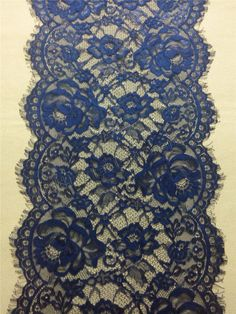 20ft navy Table runner 11 lace table by WeddingTableRunners