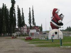 The Santa Claus House at North Pole. AK Santa Claus House, Santa Clause, North To Alaska, King Salmon, Salmon Fishing, Alaska Travel, North Pole, Great Friends, All Things Christmas