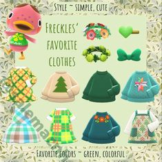 Nintendo Lite, Cute Freckles, Animal Crossing, Favorite Color, Photo And Video, Simple, Animals, Clothes, Instagram