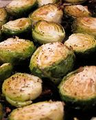 oven roasted brussel sprouts *fav veggie*
