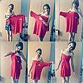 Comment transformer un trop grand T-shirt pour soi en une belle robe pour l'été