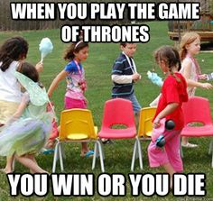 The fierce Game of Thrones…