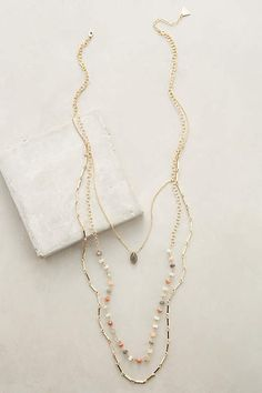 Marquis Layered Necklace - anthropologie.com