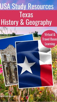 Texas History, Us History, American History, Geography For Kids, World Geography, Virtual Travel, Us National Parks, Teaching History, Road Trip Usa