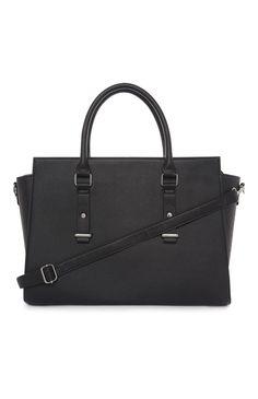 Black Oversized Wing Tote Bag | Primark