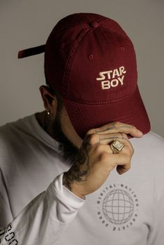 Maroon Starboy Cap (Limited Edition)