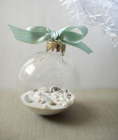 Castaway Christmas - Coastal Christmas - Beach Life ornaments