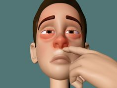 wikiHow to Get Rid of a Runny Nose -- 3 Ways  - Pressure & Massage Method  - Tissue Method  - Vicks Method (plus video)    Hope this works!