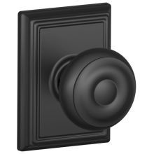 Buy the Schlage Aged Bronze Direct. Shop for the Schlage Aged Bronze Georgian Non-Turning One-Sided Dummy Door Knob with the Decorative Addison Rose and save. Black Door Hardware, Black Doors, Addison Rose, Georgian Doors, Interior Door Knobs, The Black Keys, Entry Doors, Entry Hall, Front Doors