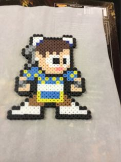 Chunli from Street Fighter / 8 bit art by DCBPerlerSprites on Etsy