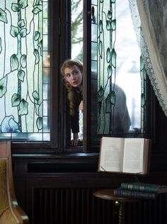 """Sophie Nelisse in scene from """"The Book Thief."""""""