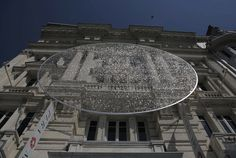 Un disque de 14 000 verres de lunettes