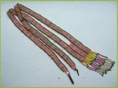 c1920 Very fine GLASS Seed Bead SAUTOIR FLAPPER longer length necklace, ART DECO (03/01/2013)