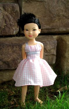 bfc ink doll dress princess by sylvieandbruno on Etsy, $27.00