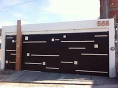 Imagen relacionada Front Gates, Entrance Gates, Main Gate Design, Door Design, Automatic Garage Door, Modern Villa Design, Fence Gate, Fences, Small House Design
