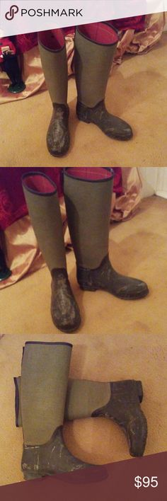 647d63ceb Green Lady N Boots by Hunter NWT The Lady N Boots by Hunter gains its  inspiration