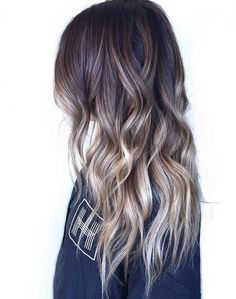 Combo Balayage and Ombre